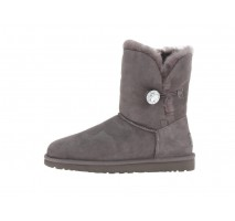 UGG BAILEY BUTTON BLING BOOT GREY