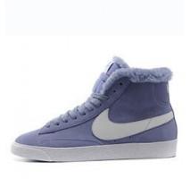 Кроссовки Nike Dunk Hight Purple С МЕХОМ
