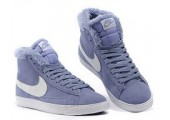Кроссовки Nike Dunk Hight Purple С МЕХОМ - Фото 4