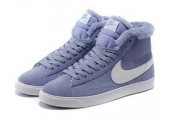 Кроссовки Nike Dunk Hight Purple С МЕХОМ - Фото 7