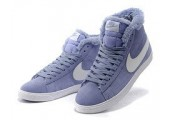 Кроссовки Nike Dunk Hight Purple С МЕХОМ - Фото 3