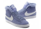 Кроссовки Nike Dunk Hight Purple С МЕХОМ - Фото 2