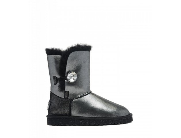 UGG Bailey Button I DO Black