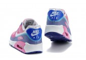 Кроссовки Nike Air Max 90 Hyperfuse Premium Peach/Blue/White - Фото 4