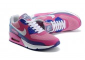 Кроссовки Nike Air Max 90 Hyperfuse Premium Peach/Blue/White - Фото 3