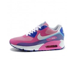 Кроссовки Nike Air Max 90 Hyperfuse Premium Peach/Blue/White