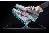 Кроссовки Nike Air Vapormax Flyknit Pure platinum - Фото 2
