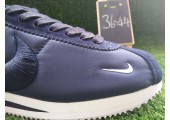 Кроссовки Nike Classic Cortez Shark Low SP - Big Tooth Navy / White - Фото 5