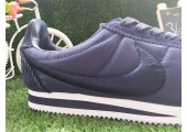 Кроссовки Nike Classic Cortez Shark Low SP - Big Tooth Navy / White - Фото 6