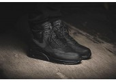 Кроссовки Nike Air Max 90 SneakerBoot Winter Triple Black - Фото 4