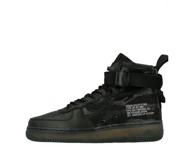 Кроссовки Nike Special Field Air Force 1 Mid Tiger Camo