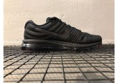 Кроссовки Nike Air Max 2017 Triple Black - Фото 1