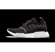 Кроссовки Adidas NMD R1 Primeknit Monochrome Black/White