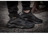 Кроссовки Nike Air Huarache Run Ultra Black Noir - Фото 4
