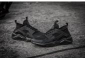 Кроссовки Nike Air Huarache Run Ultra Black Noir - Фото 5