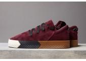 Кроссовки Alexander Wang x Adidas Originals Skate Bordo - Фото 6