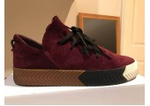 Кроссовки Alexander Wang x Adidas Originals Skate Bordo - Фото 7