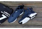 Кроссовки Nike Huarache X Acronym City MID Leather Navy/White - Фото 2