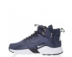 Кроссовки Nike Huarache X Acronym City MID Leather Navy/White