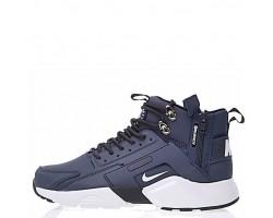 Кроссовки Nike Huarache X Acronym City MID Leather Navy/White