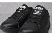Кроссовки Adidas Stan Smith Black Indi - Фото 2
