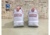 Кроссовки Fila Disruptor II White/Pink - Фото 6