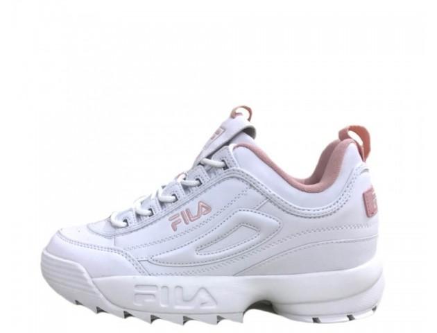 Кроссовки Fila Disruptor II White/Pink