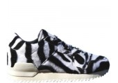 Кроссовки Adidas ZX 700 Remastered Zebra Black/White - Фото 1