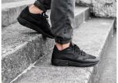 Кроссовки Nike Air Max 87 Ultra Flyknit Triple Black - Фото 1