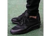 Кроссовки Nike Air Max 87 Ultra Flyknit Triple Black - Фото 2