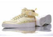 Кроссовки Nike SF Air Force 1 Utility Mid Cream - Фото 9