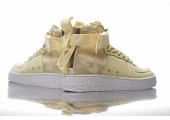 Кроссовки Nike SF Air Force 1 Utility Mid Cream - Фото 4