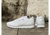 Оригинальные кроссовки Reebok Classic Leather All White - Фото 1