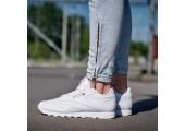 Оригинальные кроссовки Reebok Classic Leather All White - Фото 3