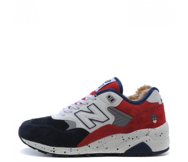 Кроссовки New Balance 580 Winter Blue White Red С МЕХОМ купить в ... 2fa534895f4