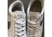 Кроссовки Nike Blazer Low Leather White/Silver - Фото 9