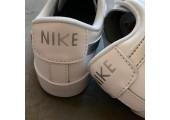 Кроссовки Nike Blazer Low Leather White/Silver - Фото 10