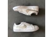 Кроссовки Nike Blazer Low Leather White/Silver - Фото 6
