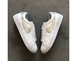 Кроссовки Nike Blazer Low Leather White/Silver