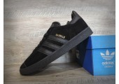 Кроссовки Adidas Gazelle Triple Black - Фото 7