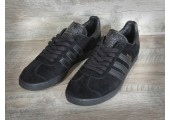 Кроссовки Adidas Gazelle Triple Black - Фото 3