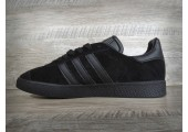 Кроссовки Adidas Gazelle Triple Black - Фото 2