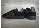 Кроссовки Adidas Gazelle Triple Black - Фото 4