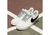 Кроссовки Nike Air Force 1 Low NBA White/Black - Фото 5