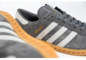 Кроссовки Adidas Originals Hamburg Grey - Фото 3