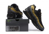 Кроссовки Nike Air Max 95 Black/Gold - Фото 2