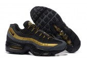 Кроссовки Nike Air Max 95 Black/Gold - Фото 3