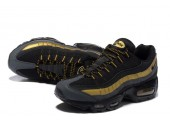 Кроссовки Nike Air Max 95 Black/Gold - Фото 6