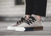 Кроссовки Alexander Wang x Adidas Originals Skate Brown/Beige - Фото 3