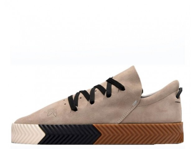 Кроссовки Alexander Wang x Adidas Originals Skate Brown/Beige